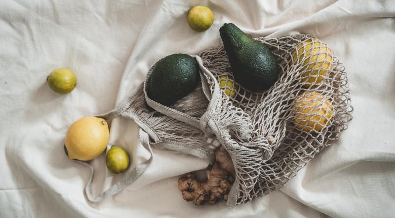 Avocado, citroen en gember